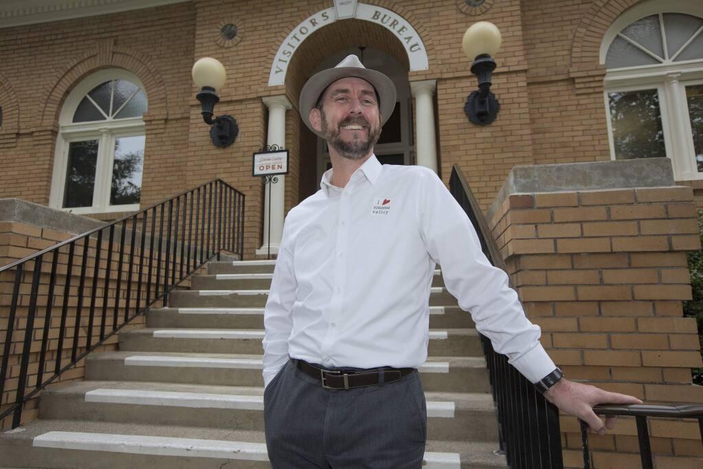 Tim Zahner,  executive director of the Sonoma Valley Visitors Bureau. (Photo by Robbi Pengelly/Index-Tribune)