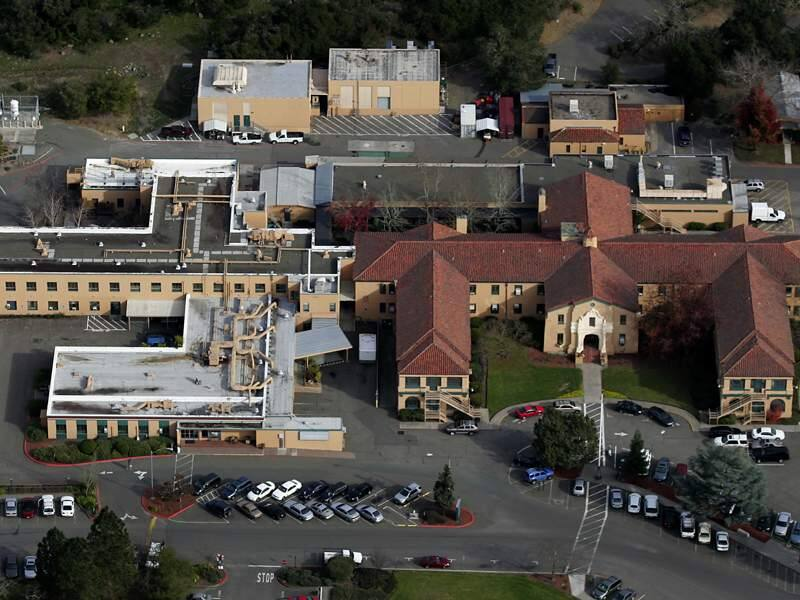 The Sutter Medical Center on Chanate Road in Santa Rosa closed in October. (PD FILE, 2007)