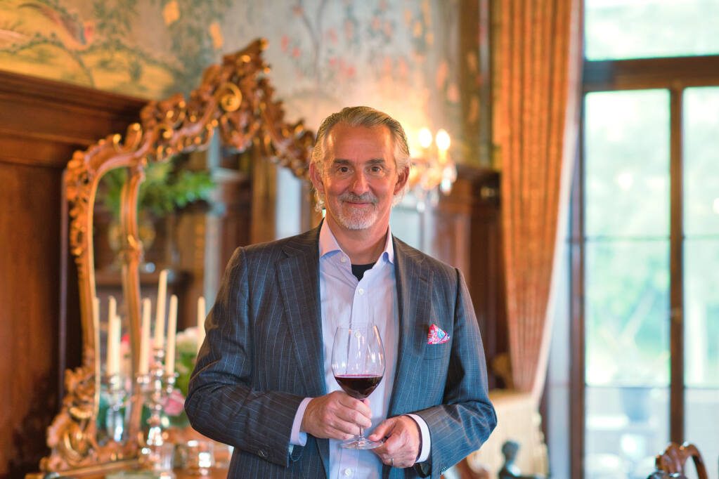 Scott Miller plans to open Amlés Wines in Yountville in Napa Valley in 2021 and donate the proceeds to charity. (courtesy of Amlés Wines)