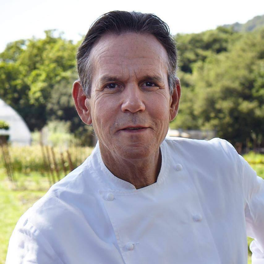 Thomas Keller, celebrity chef and owner of The French Laundry restaurant in Yountville