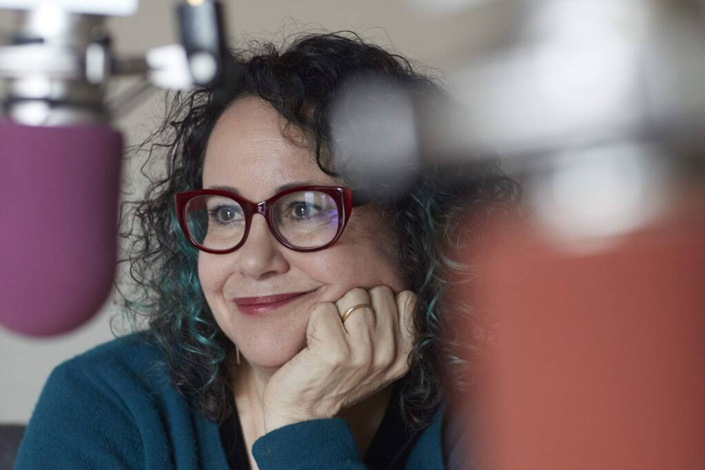 Brooke Gladstone, co-host of the WNYC radio program 'On the Media' will be in town on April 10 to participate in a Sonoma Speakers Series discussion on Trump and the media, with political consultant Dan Schnur. (Submitted)