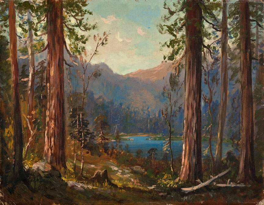 High Sierra, Lake of the Woods, a painting by Tilden Daken.
