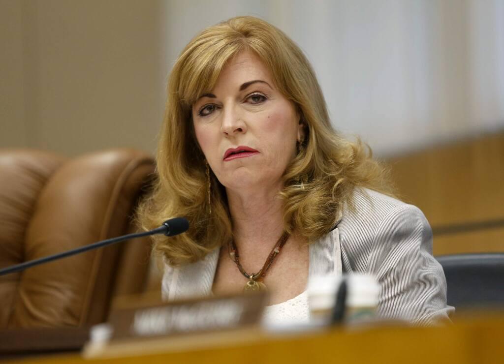 3rd District Supervisor Shirlee Zane. (BETH SCHLANKER/ The Press Democrat, file 2013)