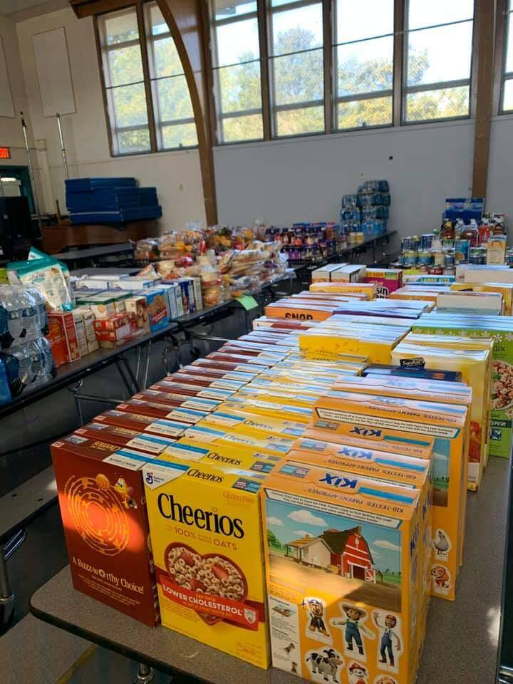 The donations are beginning to pour in at El Verano School in Sonoma. Facebook.