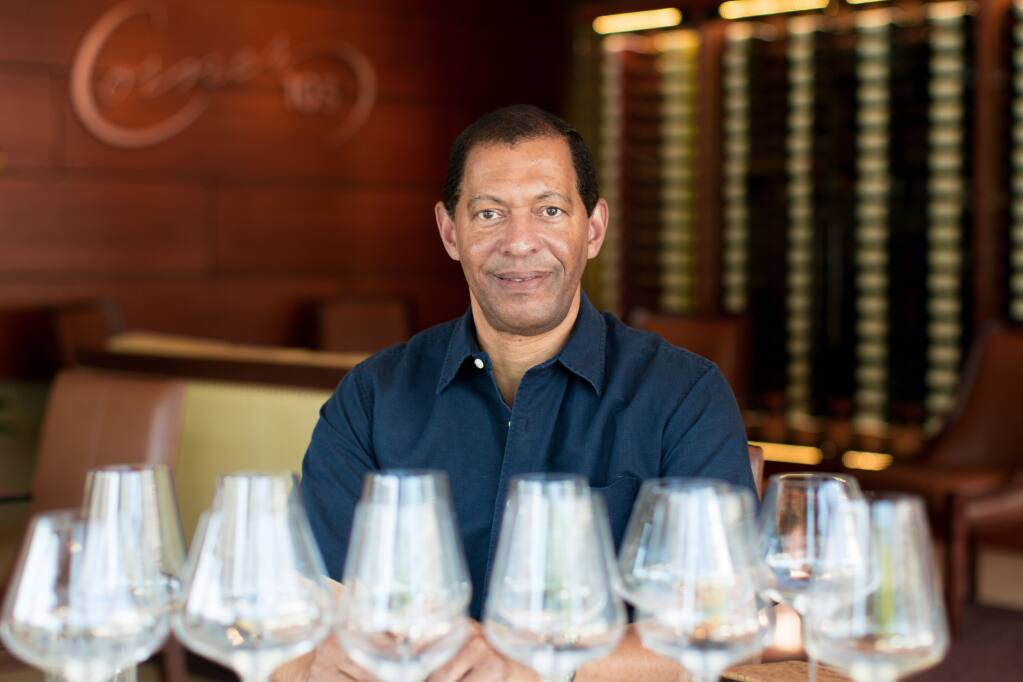 Lloyd Davis, a financier turned vintner, said the Black Lives Matter movement is giving more exposure to all minority-owned businesses, including his winery, Corner 103.  (Corner 103)