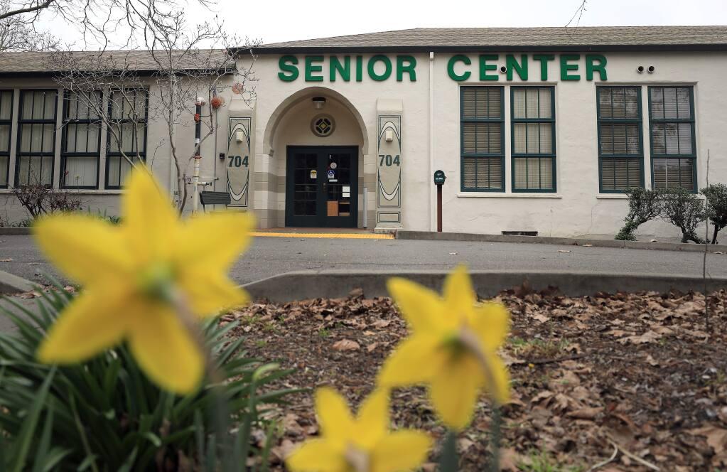 The shuttered Bennett Valley Senior Center in Santa Rosa on Tuesday, Feb. 12, 2019. (KENT PORTER/ PD)