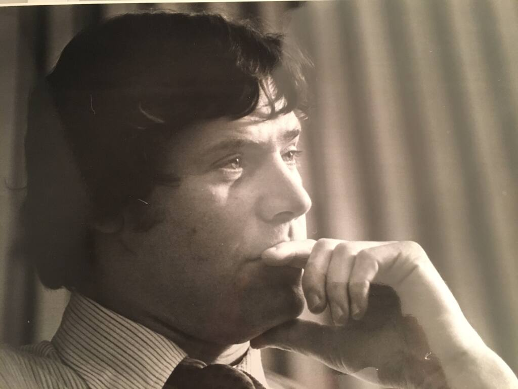 Brian Kahn became the Sonoma County 1st District Supervisor in 1976 at age 29. He died Oct. 29 while on a hunting trip in Montana. He was 73.