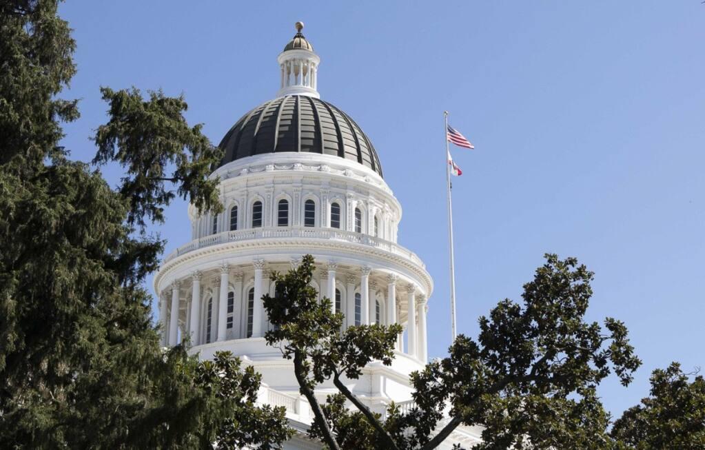 California Capitol. (Anne Wernikoff / for CalMatters)