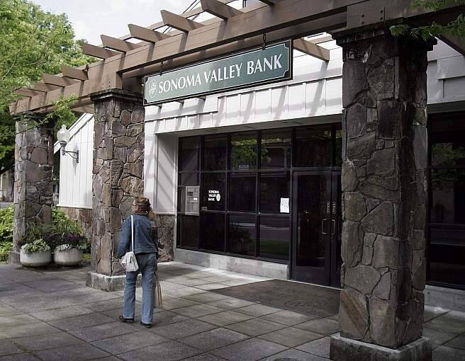 Sonoma Valley Bank (PD FILE)