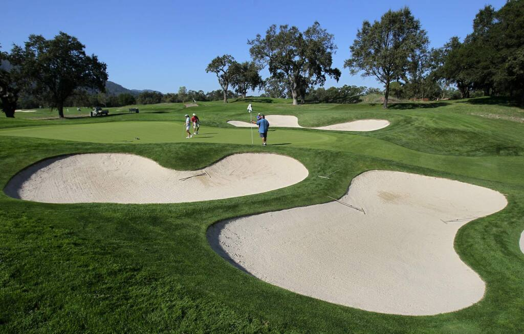 The 72-acre Sonoma Golf Club first opened in 1928. (John Burgess/Press Democrat)