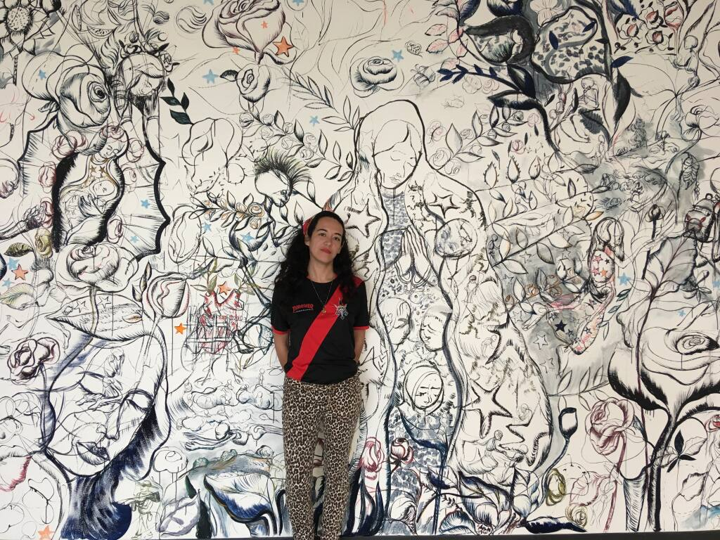 Maria de Los Angeles, a Yale grad, via Santa Rosa Junior College, will create a new mural in Glen Ellen. (Image provided by the artist).