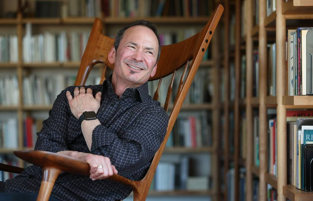 Forrest Gander is the 2019 Pulitzer Prize winner in poetry for his collection of poems in Be With. (Christopher Chung/ The Press Democrat)