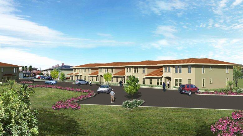 Homeward Bound has plans drawn to build homeless veteran housing in Novato. (Provided by Homeward Bound of Marin)