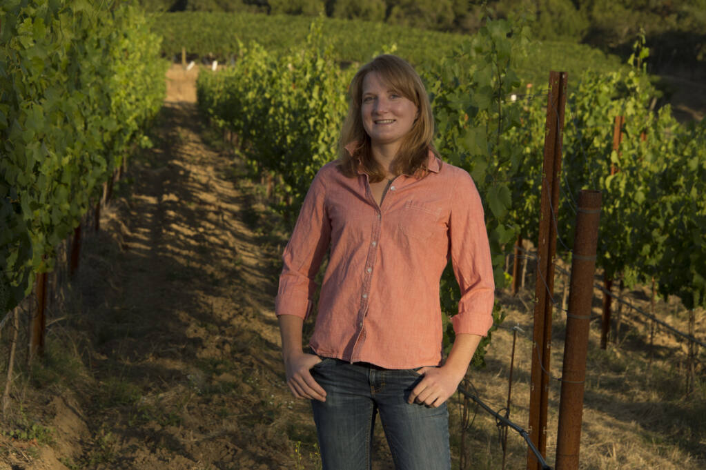 Heidi Bridenhagen, winemaker of Healdsburg's MacRostie Winery. (MacRostie Winery)