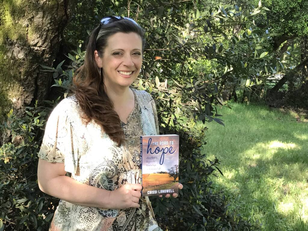 Crissi Langwell, Petaluma author