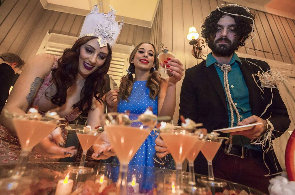 The forecast for your weekend in Sonoma County includes a strong chance of martinis, film festivals and snow days. (Photos by Robbi Pengelly/Index-Tribune)