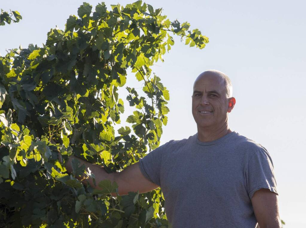 Blake Kuhn, the director of winemaking at Qupe, is behind our wine of the week, the Qupe 2017 Bien Nacido Hillside Estate Santa Maria Valley Syrah ($45). (Qupe)