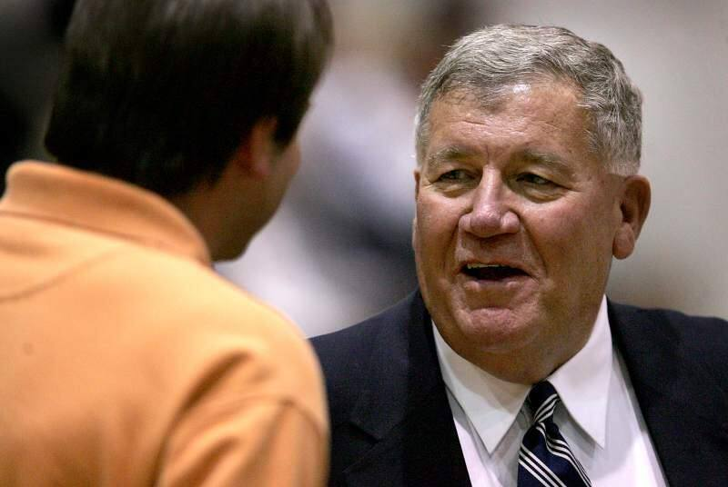 Bill Trumbo, who coached both Sonoma State University and Santa Rosa Junior College to basketball championships, died Sunday at his home in Hawaii. (Kent Porter/The Press Democrat)