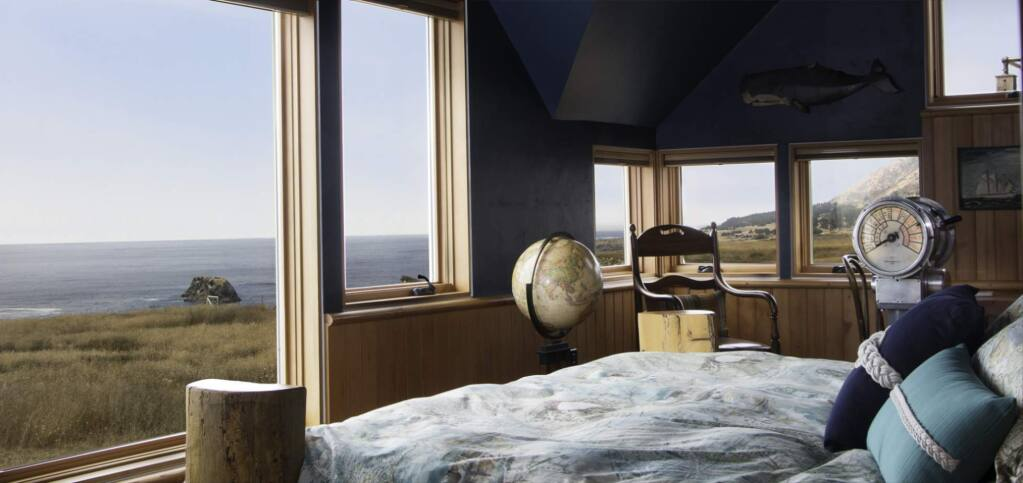 The Captain's Quarters guestroom is pictured at the Inn at Newport Ranch. (PHOTO: INN AT NEWPORT RANCH)