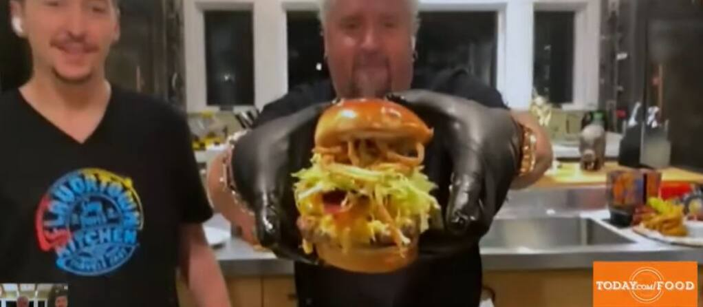 Guy Fieri Talks New Season Of Tournament Of Champions Giving Back On Today The View