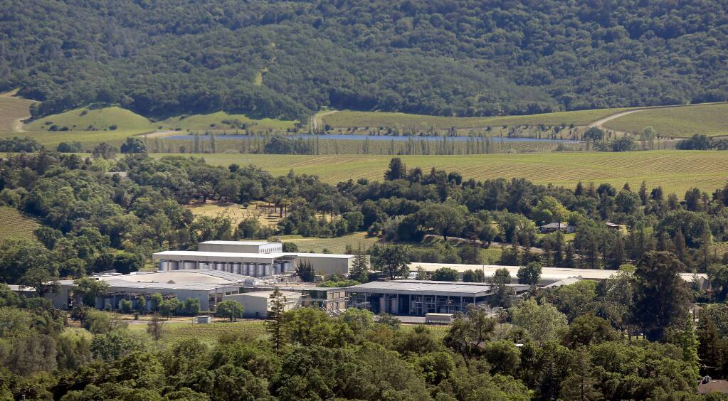 The sprawling Asti Winery, Tuesday March 31, 2015 south of Cloverdale has been put up for sale by Treasury Wine Estates. (Kent Porter / Press Democrat) 2015