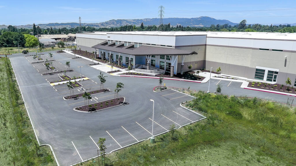 The 250,000-square-foot Victory Station industrial building at 22801 Eighth St. E. near Sonoma, seen here on June 6, 2019, was completed early that year. (courtesy of Cushman & Wakefield)