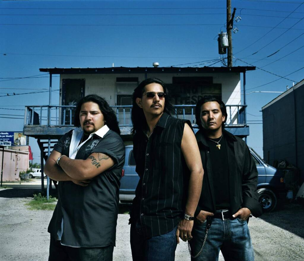 Ringo Garza, from left, Henry Garza and Jojo Garza are members of the Tex-Mex band Los Lonely Boys, who will perform Nov. 28 at the Mystic Theatre in Petaluma. (Credit: loslonelyboys.com)