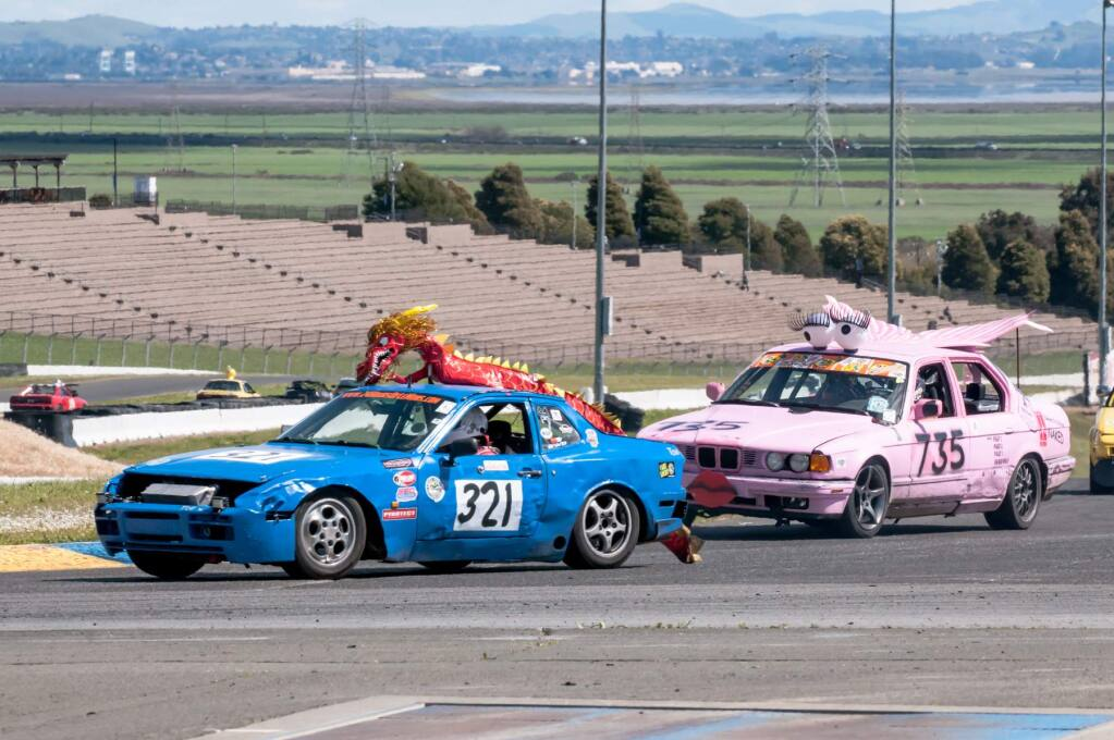 SONOMA RACEWAY PHOTOThe race might not be to the fastest, but to the ugliest as Sonoma Race way hosts The 24 Hours of Lemons this weekend.