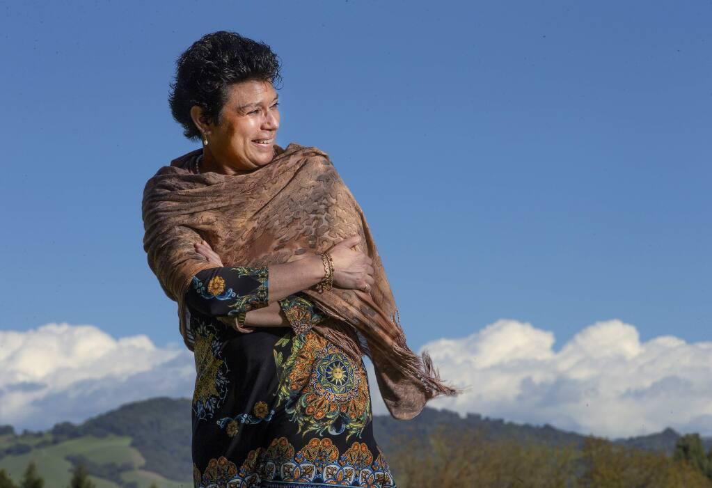 Lisa Carreño is the director of United Way of Sonoma County. (John Burgess/The Press Democrat)