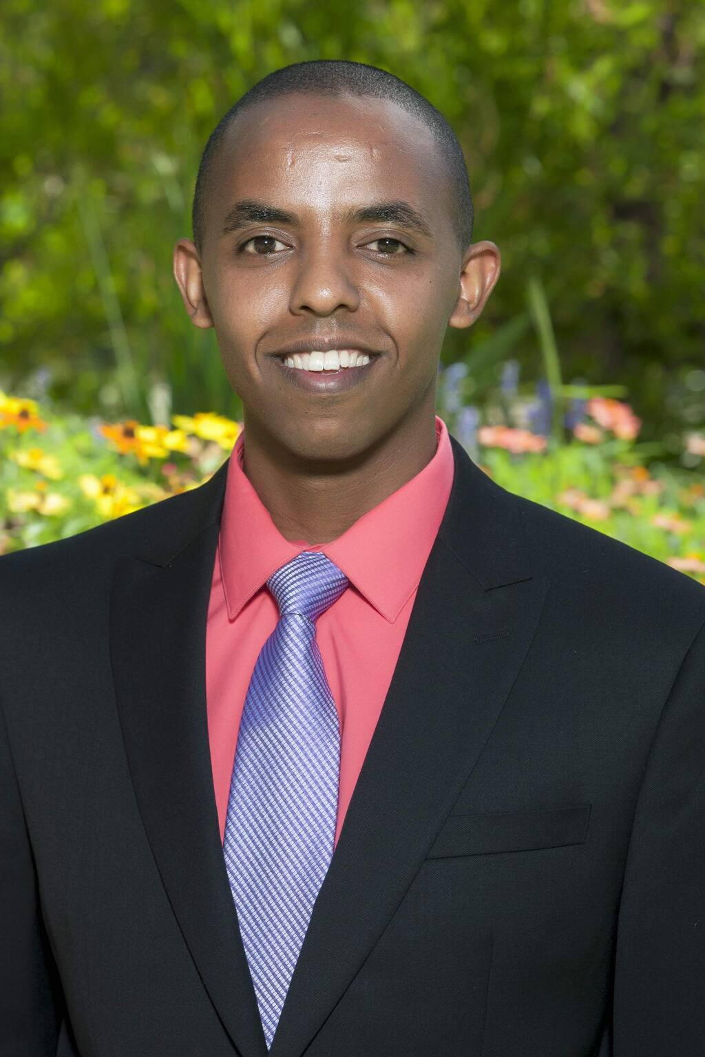 Dawit Tesfasilassie, 33, assistant administrator, Sutter Santa Rosa Regional Hospital, is a North Bay Business Journal 2019 Forty Under 40 winner. (BILL MAHON PHOTO)