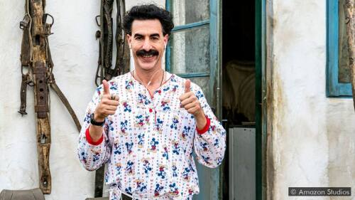 'Borat 2,' a very nice subsequent moviefilm
