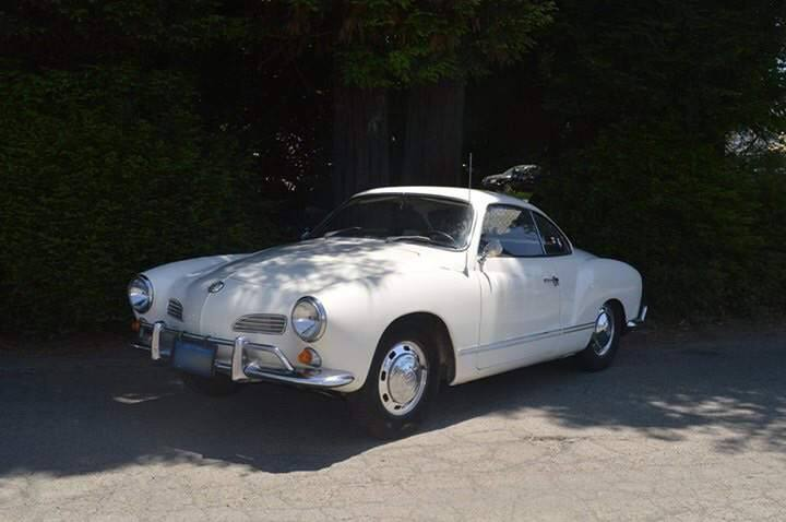 """This 1967 VW Karmann Ghia will be raffled off during the Sonoma Humane Society's """"Wags, Whiskers and Wine"""" benefit gala on Aug. 14 at Geyserville's Trentadue Winery."""
