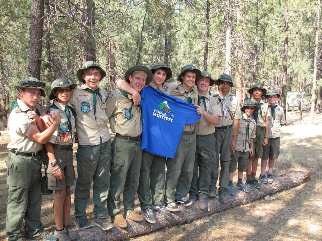 Members of Santa Rosa Boy Scout Troop 125. (Photo: Shawn Hanna)