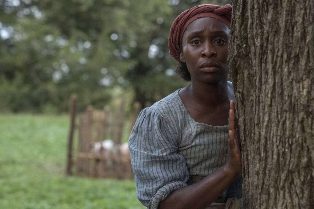 Based on the life of iconic American freedom fighter Harriet Tubman, 'Harriet' stars Cynthia Erivo in the story about Tubman's escape from slavery and transformation into one of America's greatest heroes whose courage, ingenuity, and tenacity freed hundreds of slaves and changed the course of history. (Focus Features)