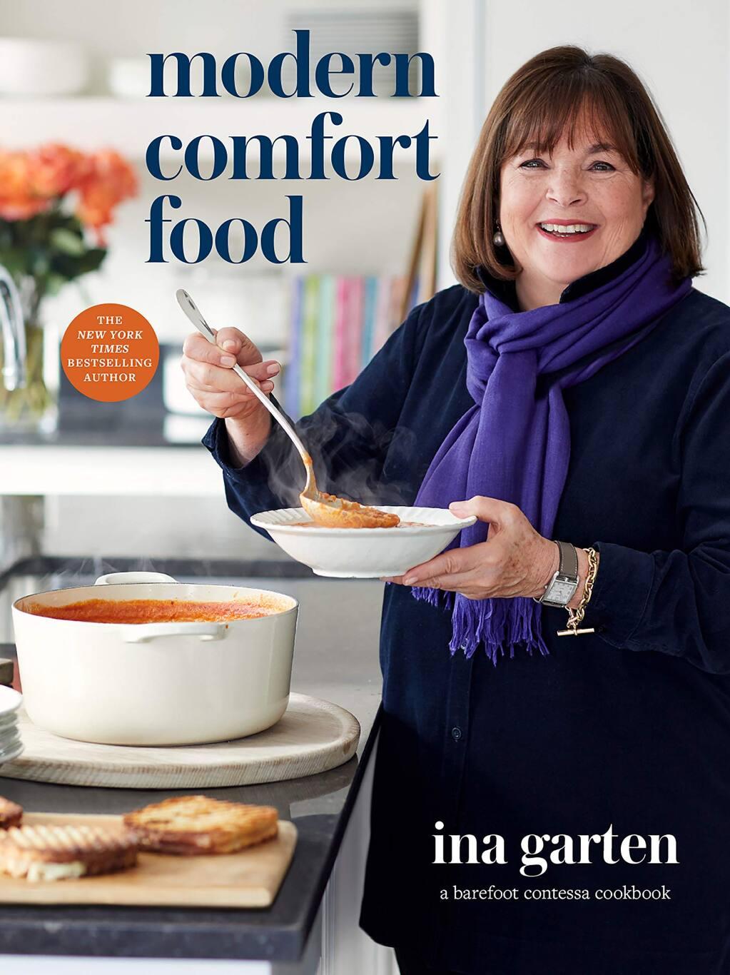 """Ina Garten's """"Modern Comfort Food"""" is the No. bestselling book in Petaluma this week."""