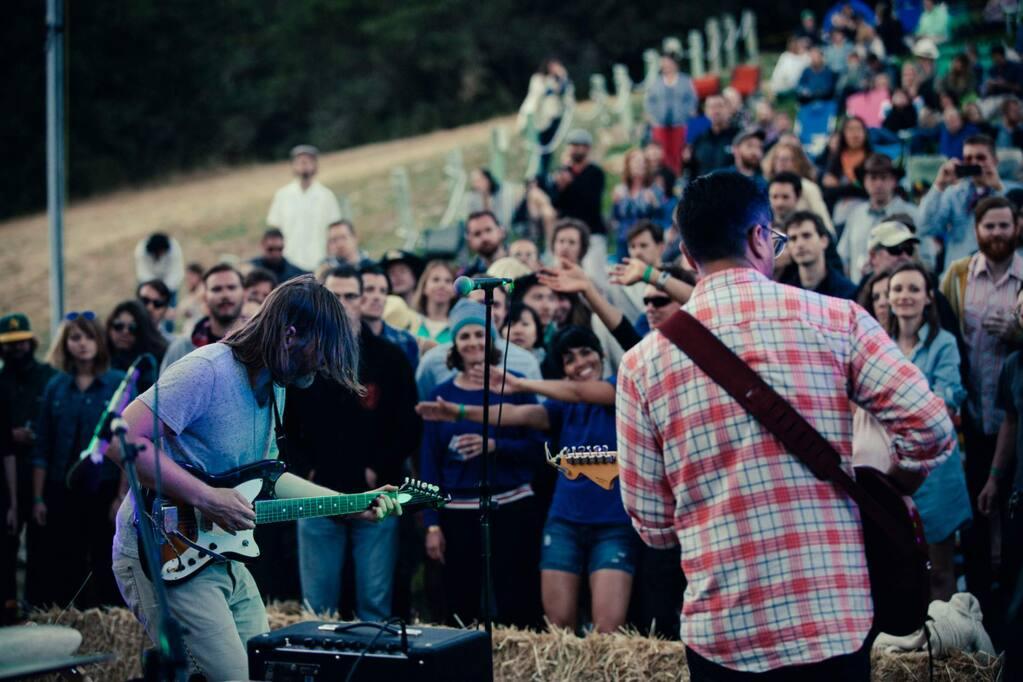 Huichica Music Festival at Gundlach Bundschu winery in Sonoma. Photo: Elli Lauren