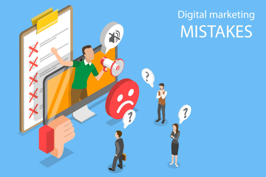 By avoiding these seven common social media marketing mistakes, you can help your business to flourish in this increasingly digital world.(TarikVision / Shutterstock)