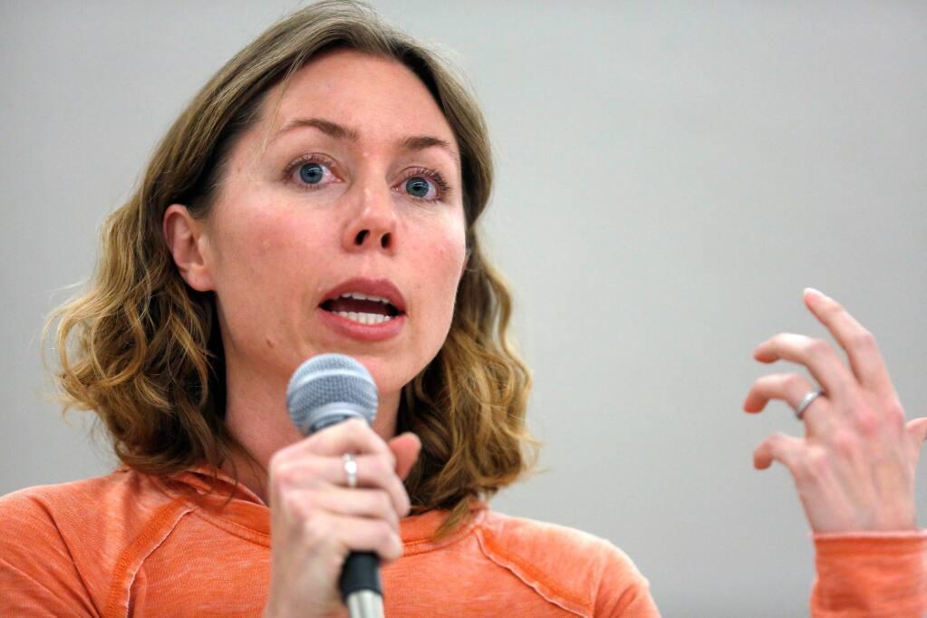 Lynda Hopkins (Alvin Jornada / The Press Democrat)