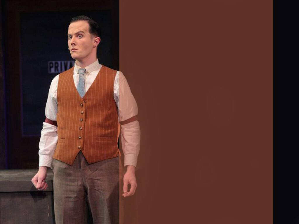 Erik Weiss stars in the 6th Street Playhouse production of 'Sweeney Todd,' the classic tale about an unjustly exiled barber who returns to nineteenth century London, seeking vengeance against the lecherous judge who framed him and ravaged his young wife. (Eric Chazankin)