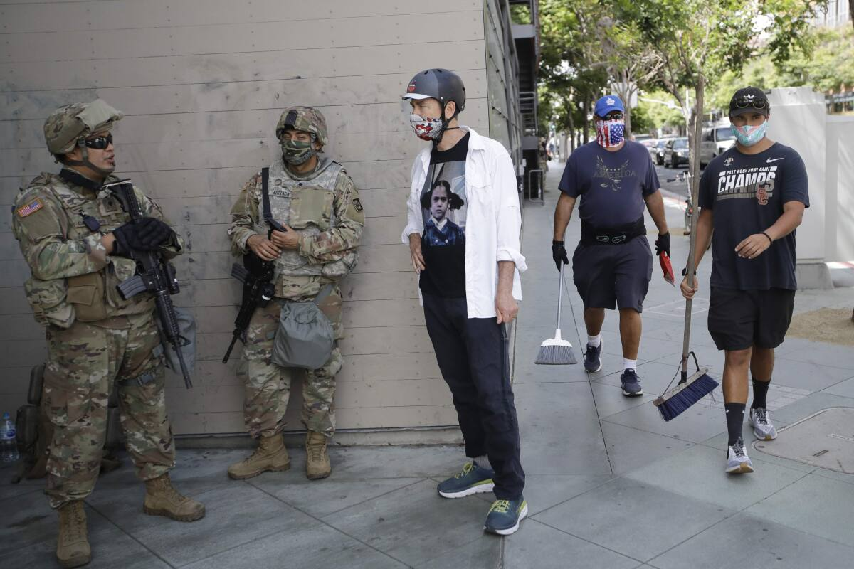 Curfews Lifted As California Assesses Damage From Unrest
