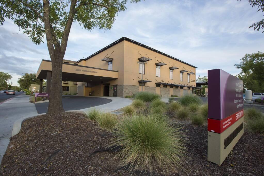 Sonoma Valley Hospital. (Photo by Robbi Pengelly/Index0Tribune)