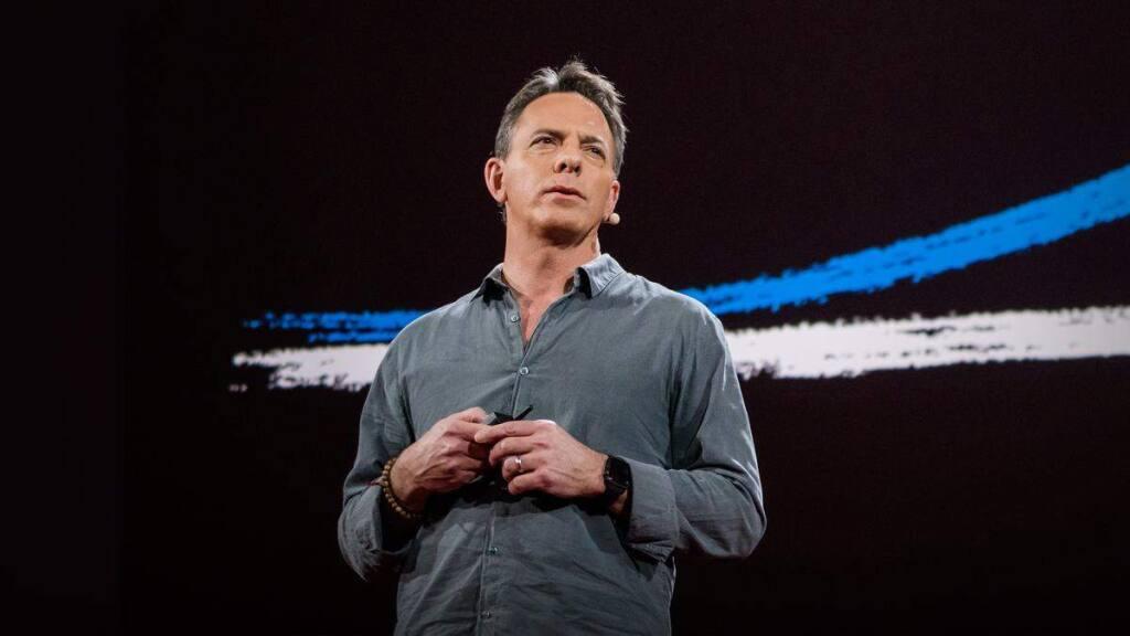 Dan Pallotta, above at a 2013 TedTalk, spoke about nonprofits Jan. 28 at Hanna Boys Center.