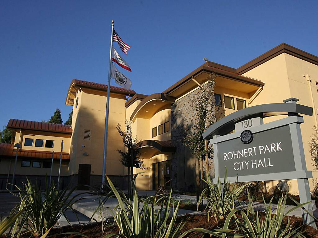 Rohnert Park City Hall (Scott Manchester/The Press Democrat)