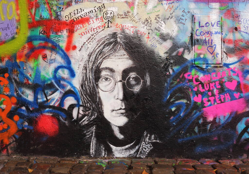 John Lennon was killed on Dec. 8, 1980, 40 years ago this week.