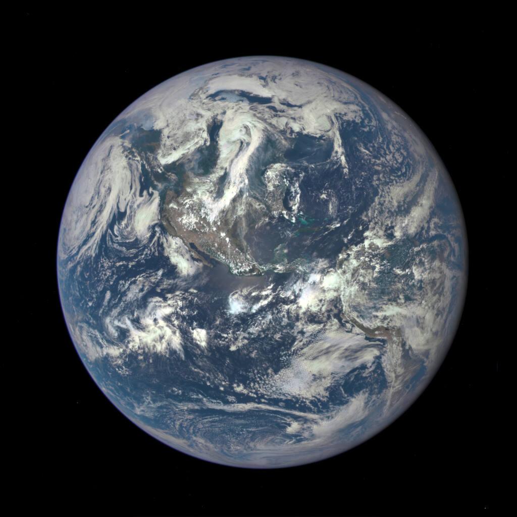 Despite slower population growth, we are still speeding toward environmental catastrophe. (NASA via Getty Images/TNS)