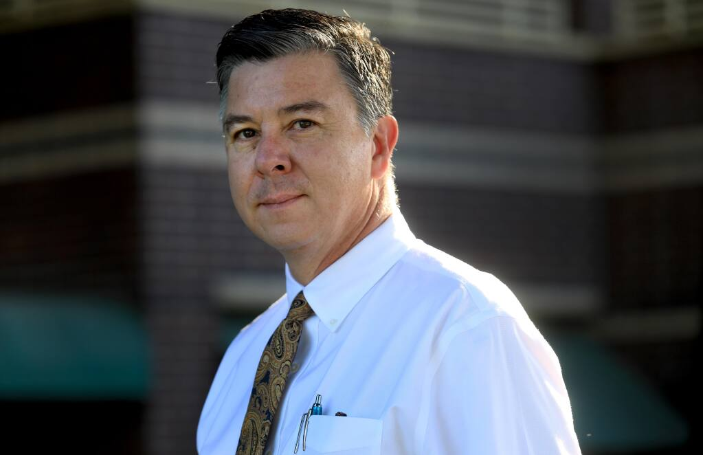Dr. Gary Green is an infectious disease specialist with Sutter Health in Sonoma County. (Kent Porter / The Press Democrat) 2020