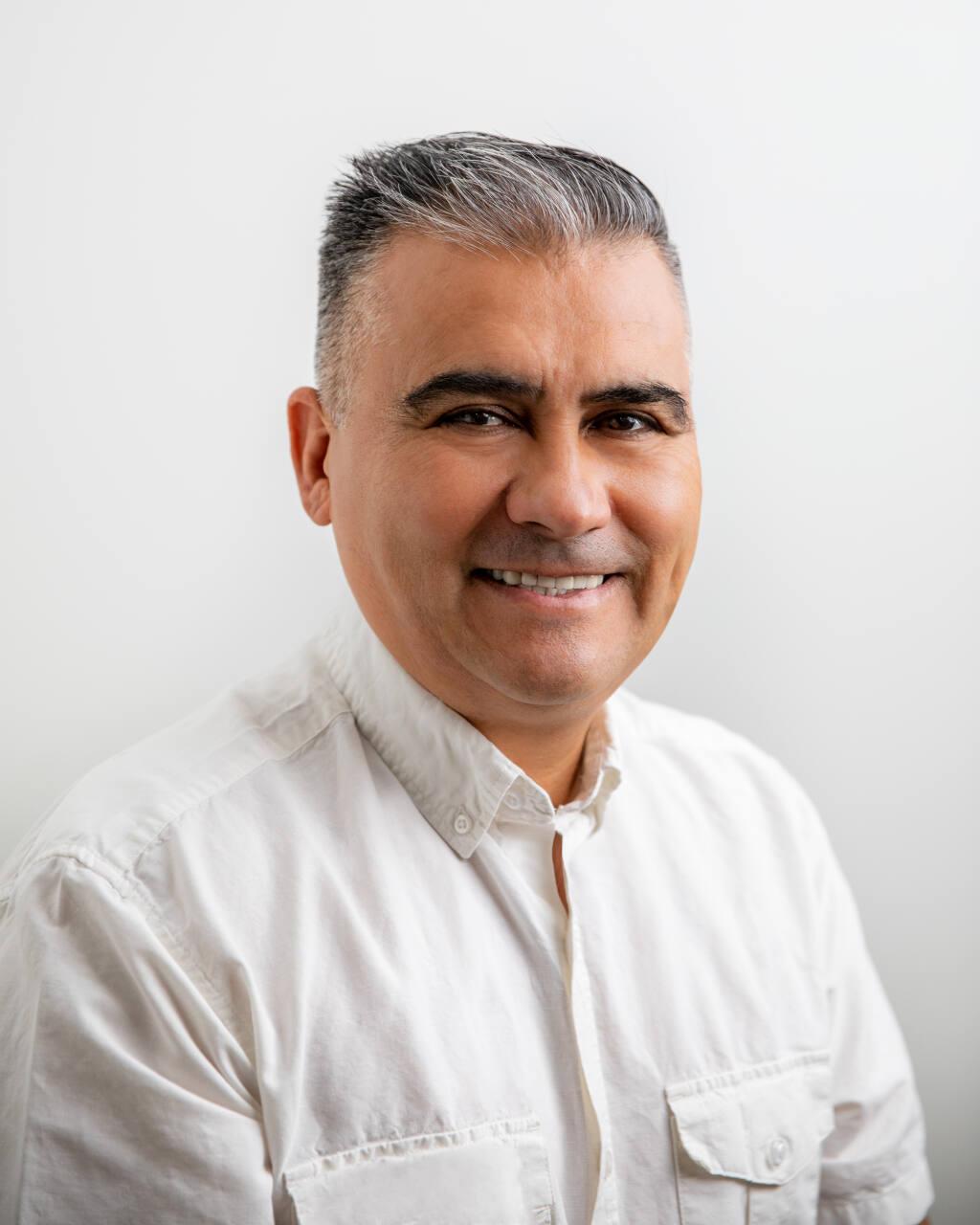 Salvador Cruz, founder, Fru-ta All Natural Ice Cream, Santa Rosa  (Brian Samuel Donald photo)
