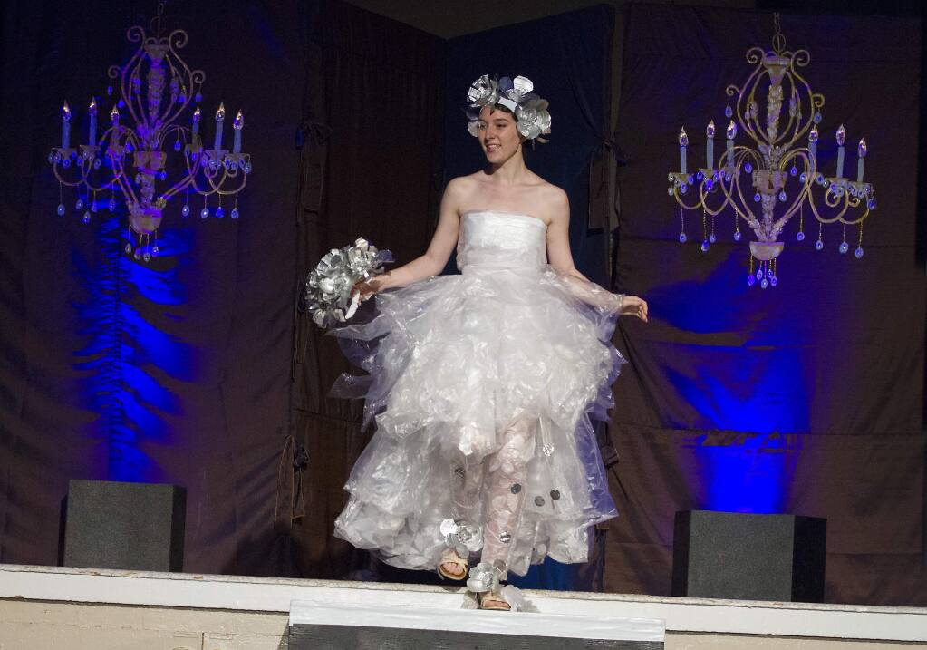 Scenes from the Sonoma Community Center's Seventh Annual Trashion Fashion Runway Show. (Photo by Robbi Pengelly/Index-Tribune)