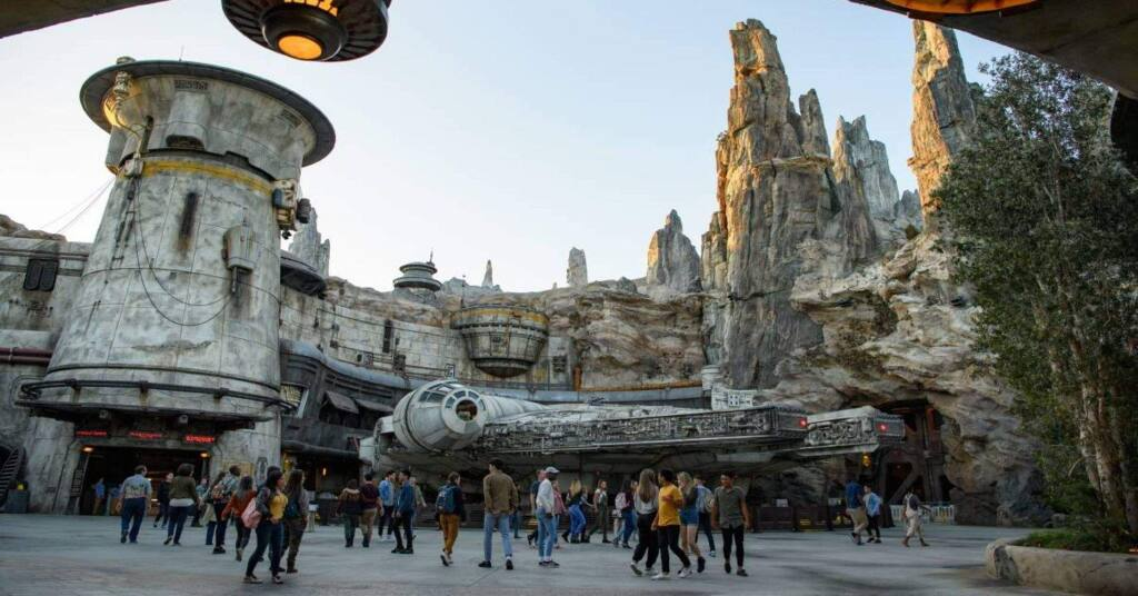 NOT SO FAR, FAR AWAY - For Petalumans, Disneyland's new Galaxy's Edge is a mere ten hours (not light speed hours) away from home.