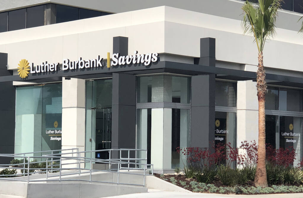 Luther Burbank Savings is based in Santa Rosa. (courtesy of Luther Burbank Savings)